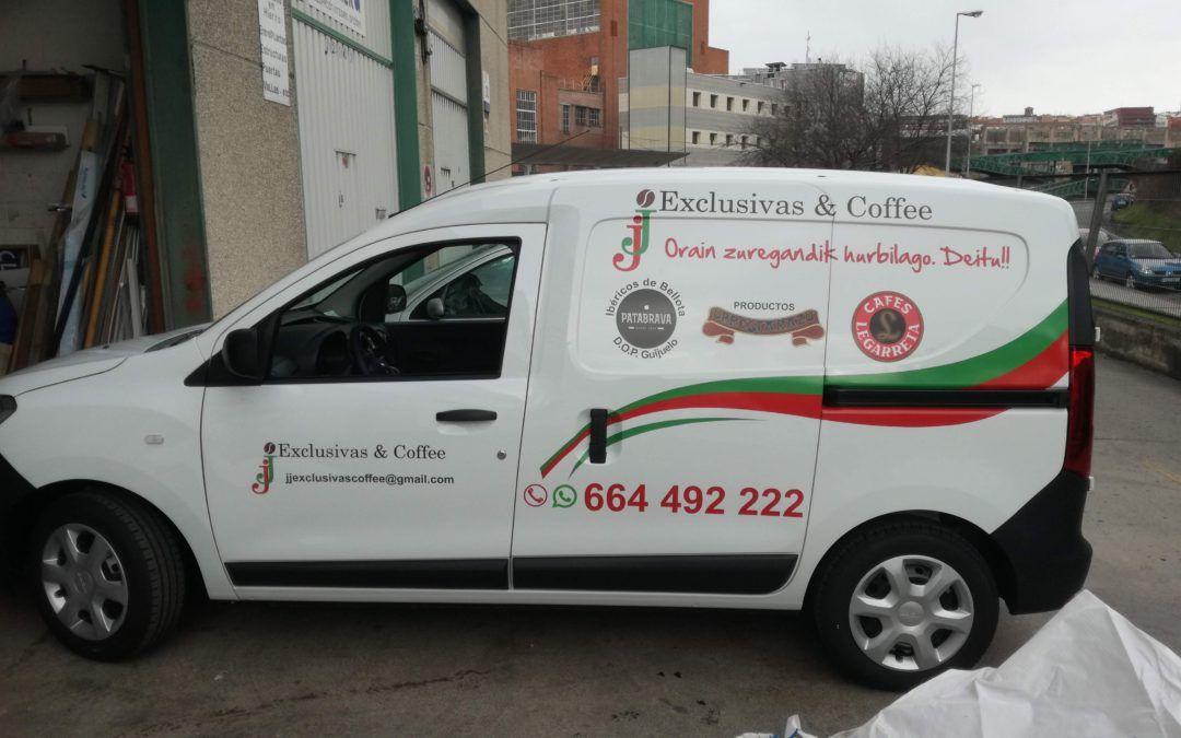 Rotular furgoneta en Bilbao, Rotutek Rotulación